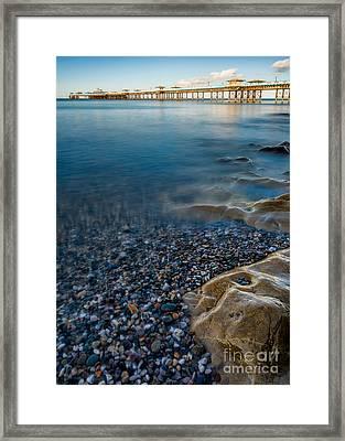 Pier At Llandudno Framed Print by Adrian Evans