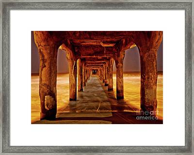 Pier Beauty Framed Print by Larry Young