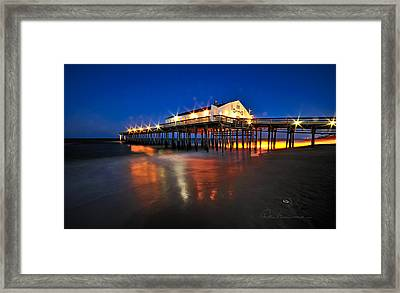 Pier Jewels 7884 Framed Print by Dan Beauvais