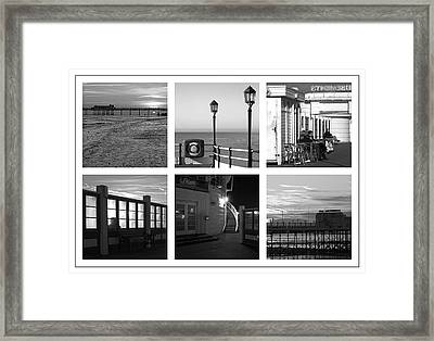 Pier Moods Framed Print by Hazy Apple