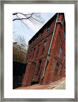 Pierce Hichborn House 1711 Framed Print