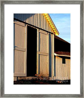 Pierce Point Ranch 16 Framed Print by Wingsdomain Art and Photography