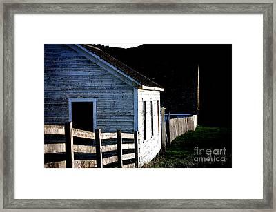 Pierce Point Ranch 5 Framed Print