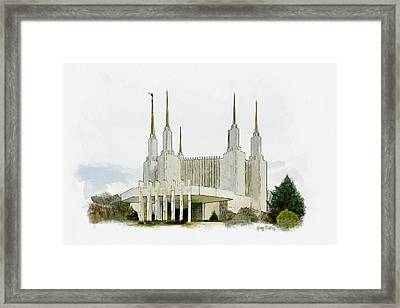 Pierce The Heavens Framed Print by Greg Collins