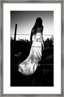 Pierced Dress Framed Print by Scott Sawyer