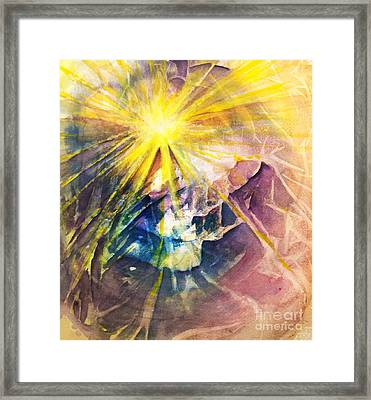 Piercing Light Framed Print