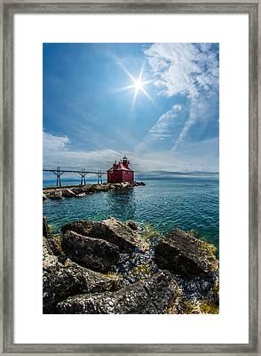 Pierhead Lighthouse Framed Print