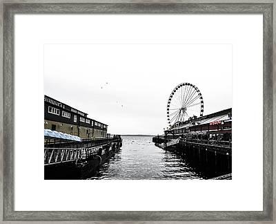 Pierless 2 Framed Print