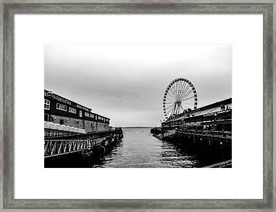 Pierless  Framed Print
