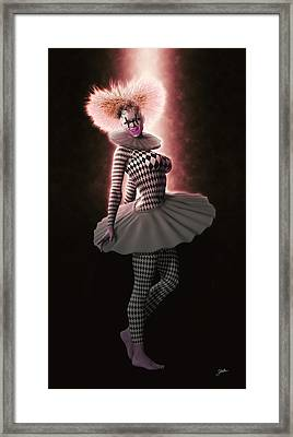 Pierrette From New York Framed Print by Joaquin Abella