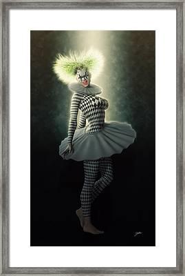 Pierrette Diva Framed Print by Joaquin Abella