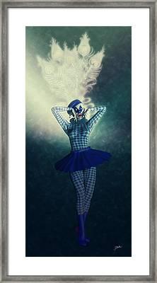 Pierrette La Estrella Framed Print by Joaquin Abella