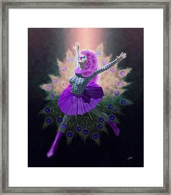 Pierrette Locamente Enamorada Framed Print by Joaquin Abella