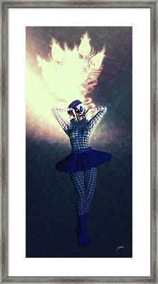 Pierrette The Super Star Framed Print by Joaquin Abella
