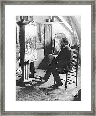 Piet Mondrian (1872-1944) Framed Print by Granger
