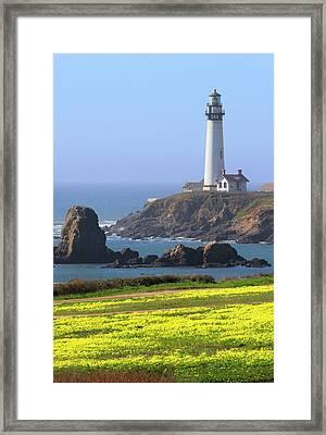 Pigeon Point Framed Print by Craig Sanders
