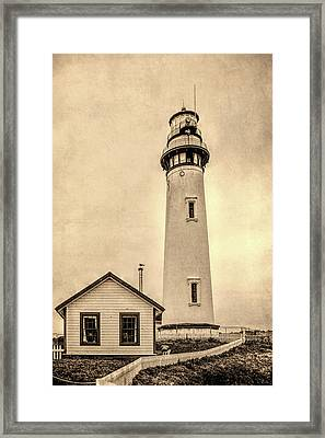 Pigeon Point Light Station Pescadero California Framed Print