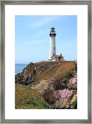 Pigeon Point Lighthouse 2 Framed Print