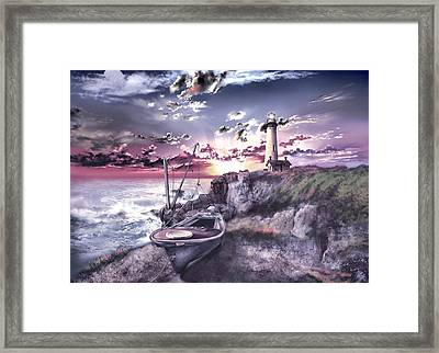 Pigeon Point Lighthouse 3 Framed Print