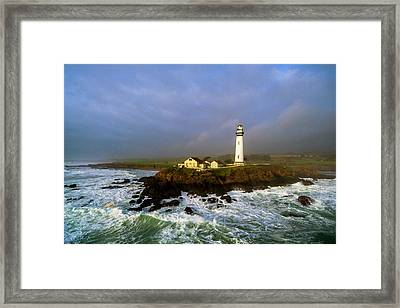 Pigeon Point Lighthouse Framed Print by Evgeny Vasenev