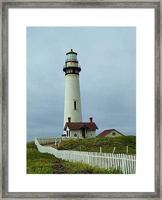 Pigeon Point Lighthouse Framed Print by Gordon Beck
