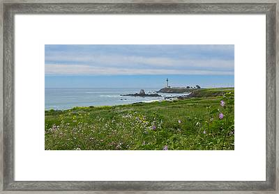 Pigeon Point Lighthouse Framed Print by Mark Barclay