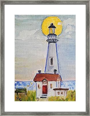 Pigeon Point Lighthouse  Framed Print