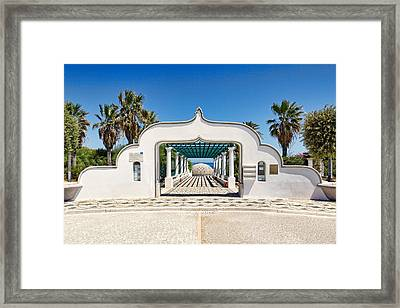 Piges Kallitheas In Rhodes - Greece. Framed Print by Constantinos Iliopoulos