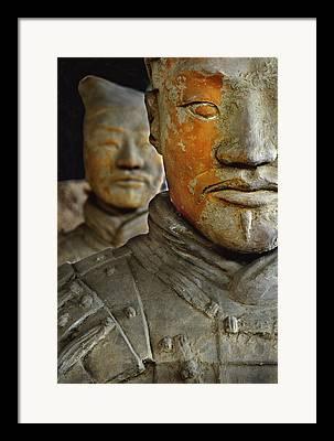 Qin Shi Huang Di Framed Prints