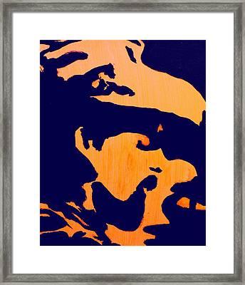 Pigpen Framed Print by Gayland Morris
