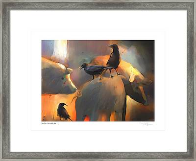 Pigs Don't Fly Framed Print by Bob Salo