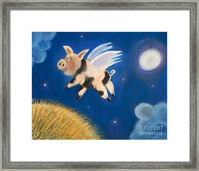 Pigs Might Fly Framed Print