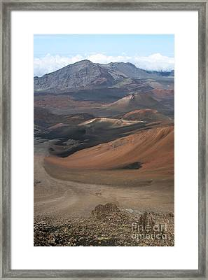 Pihanakalani House Of The Sun Haleakala Maui Hawaii Framed Print