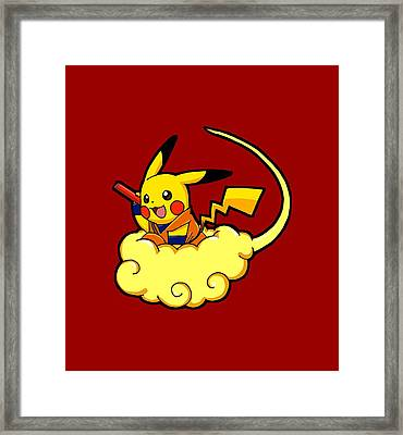 Pikagoku Framed Print