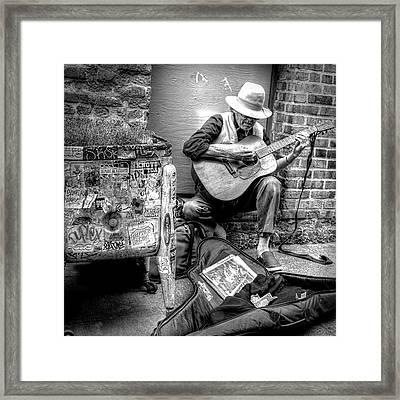 Pike Market Solo Framed Print by Greg Sigrist