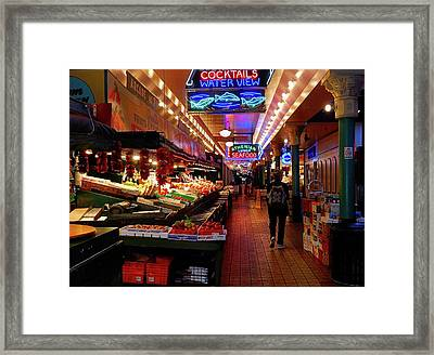 Pikes Framed Print by Gerald Greenwood