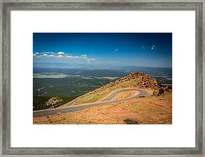 Pikes Peak 2 Framed Print