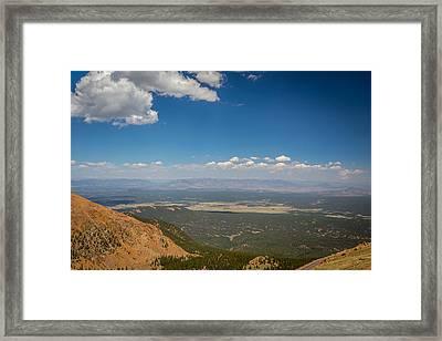 Pikes Peak 3 Framed Print by Gestalt Imagery