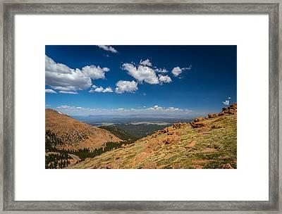 Pikes Peak 4 Framed Print