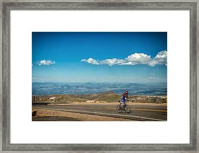 Pikes Peak 7 Framed Print by Gestalt Imagery