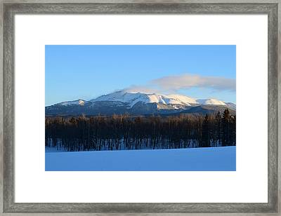 Pikes Peak From Cr511 Divide Co Framed Print
