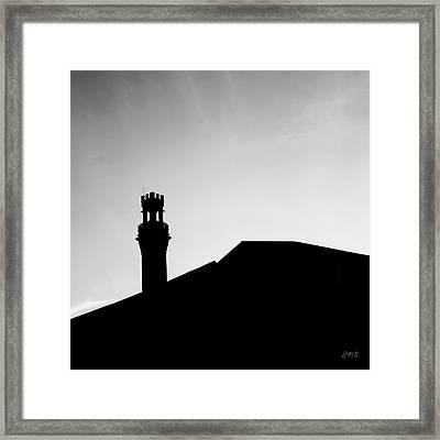Pilgrim Monument Provincetown Ma Framed Print by David Gordon