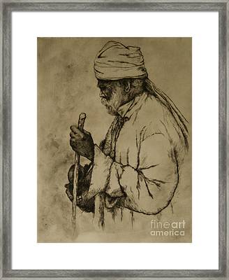 Pilgrim Framed Print by Tim Thorpe