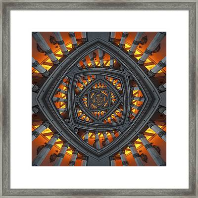 Pillars Framed Print