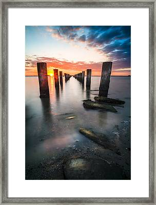 Pilling Up Framed Print by Marvin Spates
