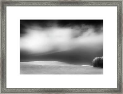 Framed Print featuring the photograph Pillow Soft by Dan Jurak