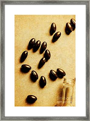 Pills And Spills Framed Print by Jorgo Photography - Wall Art Gallery