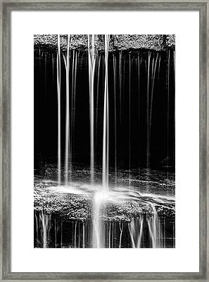 Pillsbury Falls Details Framed Print