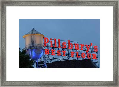 Pillsbury's Best Flour Framed Print