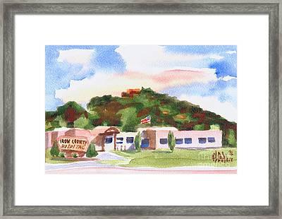 Pilot Knob Mountain W401  Framed Print by Kip DeVore